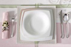 Absolute Platinum Yemek Takımı / Dinnerware Set #bernardo #kitchen #mutfak #dinner #tabledesign