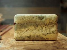 A personal favorite from my Etsy shop https://www.etsy.com/listing/264049051/wood-wallet-and-business-card-holder