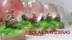 Christmas Deco, Christmas Bulbs, Snow Globes, Crafts For Kids, Holiday Decor, Glass, Home Decor, Ideas, Youtube