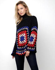 01 dot cotton sweater
