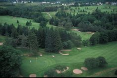 Soon friends... soon this won't be covered in snow and it'll be golf worthy!  Golfing in Nova Scotia at the Digby Pines Golf Resort & Spa