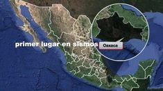 Oaxaca continúa en el primer lugar en sismos.