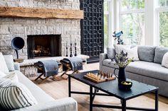 Una #casa cálida y acogedora que mezcla rústico y nórdico para un resultado genial.