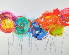 Blooms 1 by Caroline Ashwood