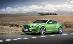 2016 Bentley Continental GT: Tweaking the Twelve - Photo Gallery of auto show news from Car and Driver - Car Images - Car and Driver