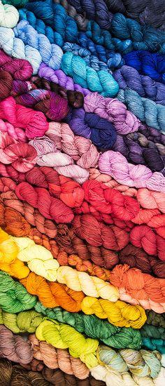 We love Malabrigo Yarn <3