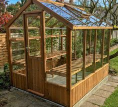 """Backyard Garden Fantastic """"greenhouse design"""" info is available on our website. Read more and you wont be sorry you did.Backyard Garden Fantastic """"greenhouse design"""" info is available on our website. Read more and you wont be sorry you did. Diy Greenhouse Plans, Outdoor Greenhouse, Backyard Greenhouse, Small Greenhouse, Backyard Landscaping, Greenhouse Wedding, Homemade Greenhouse, Greenhouse Shelves, Greenhouse Kitchen"""