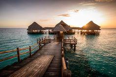 Zanzibar Sunset by Marc Schmittbuhl on 500px