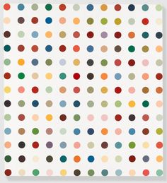 Damien Hirst Methoxyverapamil, 1991 Household gloss on canvas 75 x 69 inches x cm) Damien Hirst Paintings, Damien Hirst Art, Bristol, Repetition Art, Pop Art, Hirst Arts, Origami, Gagosian Gallery, Art For Art Sake