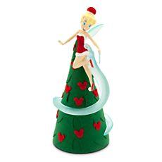 b94ddf11d57 disney parks christmas tree topper retro light up tinker bell new with box  Disney Tree Topper