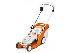 Ranking:  ★ ★ ★ ★ Price: $690, $740 with rapid charger Voltage: 36 Deck Size: 14-1/2 inches Self-Propelled: No Mower Weight with Battery: 30.6 pounds Battery Weight: 4.2 pounds Estimated Mowing Area: 2400–4800 square feet Likes: There aren't many powered mowers that you can hang on the wall when you're done. This product is so light you can hang it with one hand. Powered by a petite Li-ion battery and a commercial-grade brushless motor, this is a superb tool that reflects a European view of…