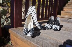 Hey, I found this really awesome Etsy listing at https://www.etsy.com/listing/222180773/sz-85-m-80s-polka-dot-black-and-white