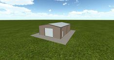 Cool 3D #marketing http://ift.tt/2BEWAtp #barn #workshop #greenhouse #garage #roofing #DIY