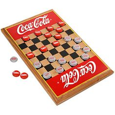 Being a Coca-Cola man and a champion checkers player, this would have been a great gift for Dad!
