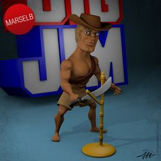 Big Jeff #2 by marselb