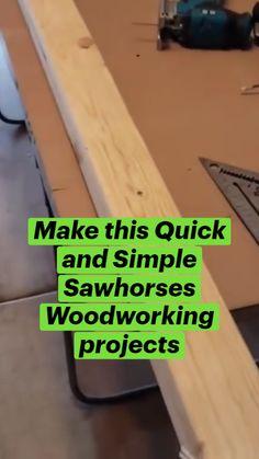 Easy Woodworking Projects, Woodworking Projects Diy, Woodworking Jigs, Woodworking Techniques, Wood Shop Projects, Small Wood Projects, Diy Pallet Projects, Workbench Plans Diy, Useful Life Hacks
