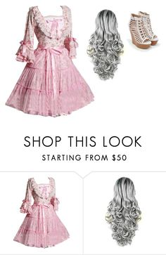 """""""3"""" by the-joker-reject on Polyvore featuring JustFab"""