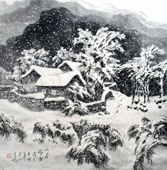 Keep Your House Secure By Installing DIY Alarm System – Julia Palosini Korean Painting, Chinese Landscape Painting, Chinese Painting, Chinese Art, Landscape Paintings, Landscapes, Decoupage Paper, Botanical Illustration, Traditional Art