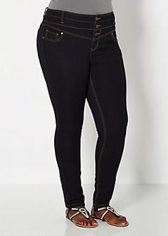 Plus Size Skinny Jeans for Juniors | rue21 | wanted things ...