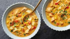 Mexican Chicken Chowder. Fill up the freezer with this easy Mexican twist on chowder that comes together fast and heats up in a hurry.