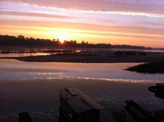 Loire et soleil du matin