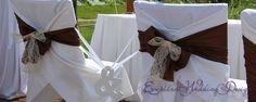 Esküvői dekoráció, barna esküvői dekoráció, székmasnik, esküvői fa dekorációs elem