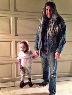 Twin Peaks Laura Palmer & Killer BOB DIY Halloween Costumes // www.thatswhatmomsaid.com