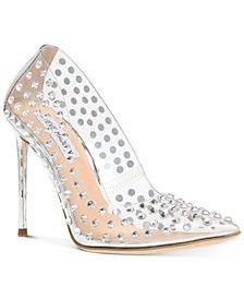 Women's Valiant-S Rhinestone Vinyl Pumps  #fashion #fashionista #fashionshoes #macys #shoes #womensshoes #fashiontrends #fashionwomen #fallfashion #fallstyle #wedding #datenight  #Sponsored, #Promotion, #PaidAd, #ad, #affiliatelink Stiletto Heels, High Heels, Shoes Heels, Pumps, Shoes Sneakers, Glam Girl, Prom Shoes, Shoes Online, Fashion Shoes