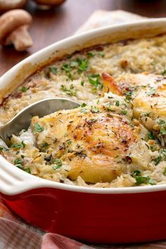 Chicken and Rice Casserole - GoodHousekeeping.com