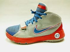 09cfd8ca9197 Details about Nike KD Trey 5 III Kevin Durant Boy s Youth Basketball Shoes  size 6.5Y Red Blue
