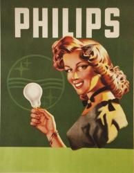 Vintage Philips Ad for lamps | #Philips #retro #vintage #museum #commercial…