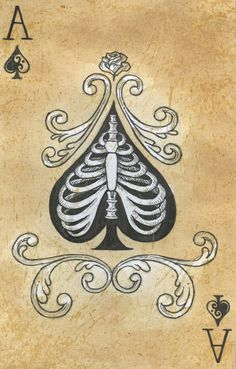 Ace of Spades var. 1 by ~xcutHEREx on deviantART