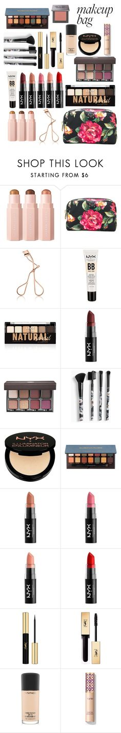 """My mkp bag"" by perriemaynard on Polyvore featuring beauty, Dolce&Gabbana, NYX, Viseart, Torrid, Charlotte Russe, Anastasia Beverly Hills, Yves Saint Laurent, MAC Cosmetics and Urban Decay"