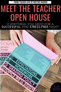 How to Plan Your Meet the Teacher Open House Night - Young Teacher Love by maggie Need tips for how to plan your Meet the Teacher Open House night? This post provides a meet the teacher editable template, parent letter, and other ideas. Teacher Forms, Letter To Teacher, Letter To Parents, Survival Kit For Teachers, Teacher Survival, Teacher Hacks, Teacher Stuff, Survival Tips, Teacher Organisation