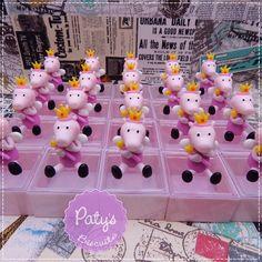 Caixinhas decoradas Peppa Pig Princesa das Fadas - Paty's Biscuit