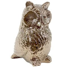 I pinned this Owl Statue from the Metallic Tidings event at Joss and Main!