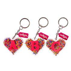 Image for Alphabet Heart Bead Keyring from Smiggle UK