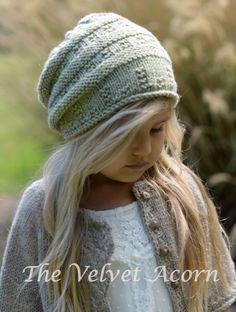 KNITTING PATTERN-The Ceydar Cap (Toddler, Child, Adult sizes) by Thevelvetacorn on Etsy https://www.etsy.com/listing/190431052/knitting-pattern-the-ceydar-cap-toddler
