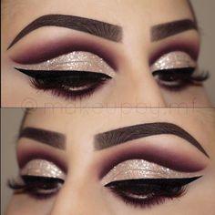 "#Repost @makeupby.mf ・・・ Hey loves! ❤ 1️⃣ Eyebrows @anastasiabeverlyhills #dipbrow in ""Ebony"" 2️⃣ @hudabeauty @shophudabeauty #hudabeautyrosegoldpalette 3️⃣ @tartecosmetics clay paint liner 4️⃣ @hypnaughtypower @hypnaughtylashes @hypnaughty.makeup Lashes in style ""Addiction"" 5️⃣ @glitterinjections Retro Glow glitter #hudabeauty #shophudabeauty #anastasiabeverlyhills #anastasiabrows #brian_champagne #peachyqueenblog #laurag_143 #eyes #makeupartist #makeup #mua #hypnaughtypower…"