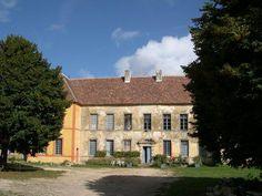 Chateau de Sainte Colombe en Auxois avant travaux