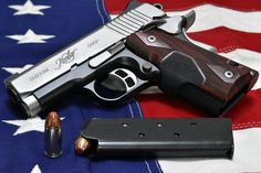 (1) Twitter Kimber 1911, Firearms, Hand Guns, Carving, Twitter, 1911 Kimber, Pistols, Weapons, Wood Carvings