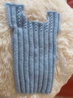 hand knitted baby singlets - Google Search