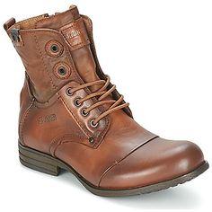 Boots / Chaussures montantes Bunker SARA SAR Tan 350x350