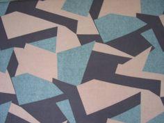Jersey Tricot  lumière géométrique rose par myleesewingandfabric