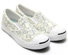 CONVERSE JACK PURCELL THE SIMPSONS SLIP-ON [WHITE] (32261980)