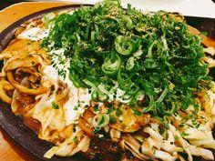 Negiyaki Modan @Okonomiyaki