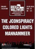 Plakat Gig Pulheim Theater im Walzwerk 23.02.2018
