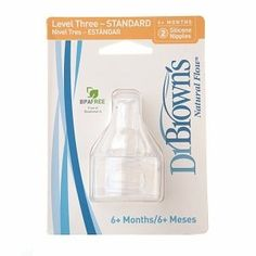 Dr Browns Natural Flow Level 3 Standard Nipple  6 Nipples >>> Want to know more, click on the image.-It is an affiliate link to Amazon.