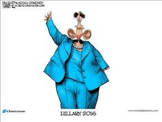 Don't be fooled about Hillary's real identity |POLITICALLY INCORRECT CARTOONS
