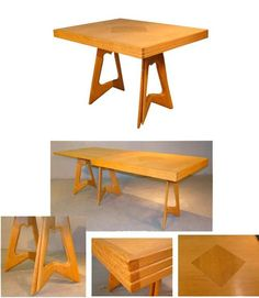 Guillerme & Chambron, Extendable Dining Table in Solid Oak, Edition Votre Maison 2